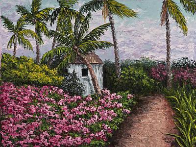Kauai Flower Garden Poster