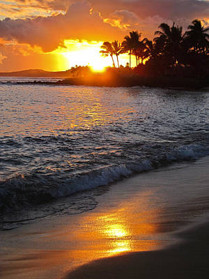 Kauai Sunset Poster