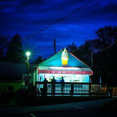 Kavern Ice Cream Catonsville Maryland Poster