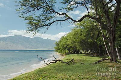 Kawililipoa Beach Kihei Maui Hawaii Poster by Sharon Mau