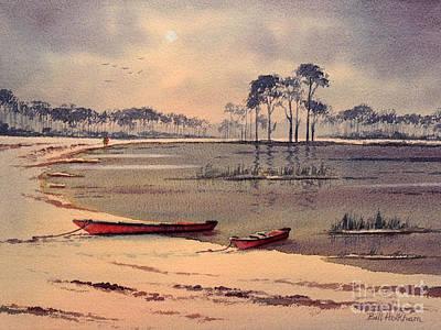 Kayaking In Florida Poster