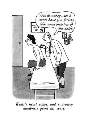 Keats's Heart Aches Poster