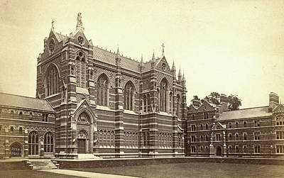 Keble College Chapel, Oxford Uk, Francis Frith Poster by Artokoloro