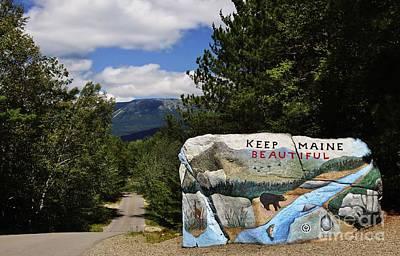 Keep Maine Beautiful Poster