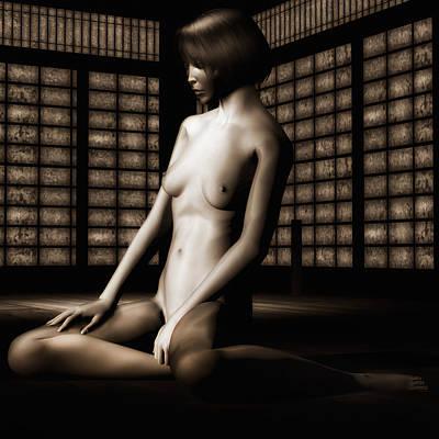 Keiko Nude No.3 Poster