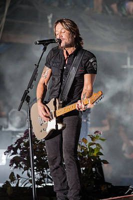 Keith Urban 1 Poster by Mike Burgquist