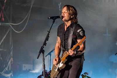 Keith Urban 3 Poster by Mike Burgquist