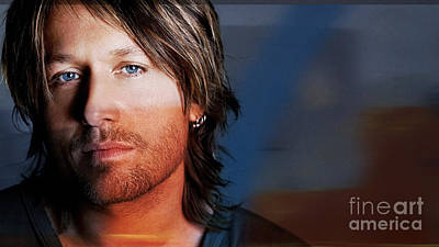 Keith Urban  Poster by Marvin Blaine