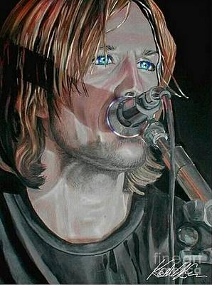 Keith Urban No. 3 Poster by Katherine Urbahn