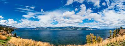 Kelowna Okanagan Lake Poster by Ulrich Schade