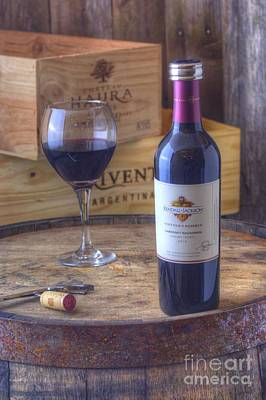 Kendall-jackson Vintners Reserve Cabernet Savignon Sonoma County 2010 Poster by Corky Willis Atlanta Photography