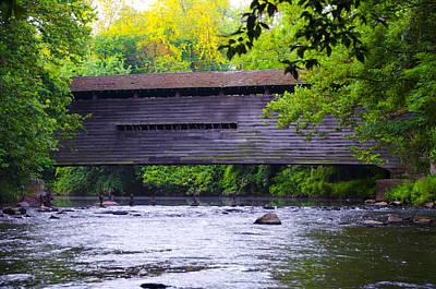 Kennedy Covered Bridge - Kimberton Pa. Poster
