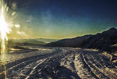 Kennicott Glacier Poster