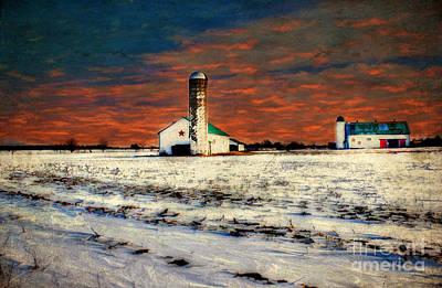 Kentucky Sunrise Poster by Darren Fisher