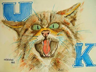 Kentucky Wildcats Poster
