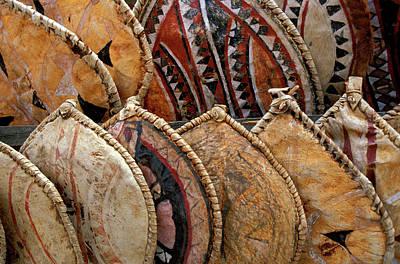 Kenya Handmade Masai Shields Poster by Jaynes Gallery