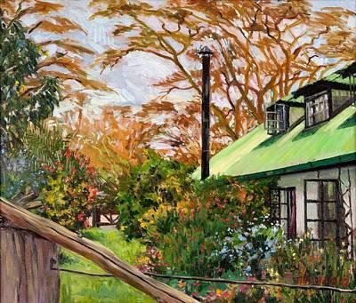 Kenyan Garden Poster by Tilly Willis