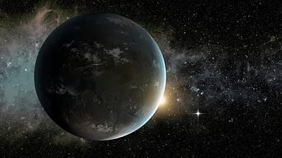 Kepler-62f Poster by Nasa/ames/jpl-caltech
