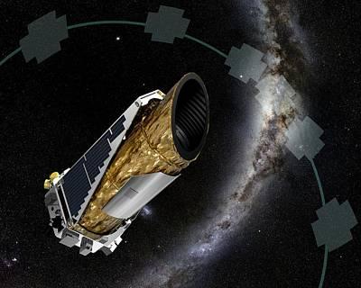 Kepler Observatory K2 Mission Poster