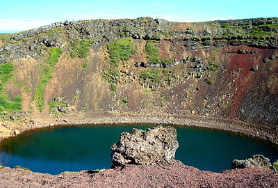 Kerio Crater Lake Poster