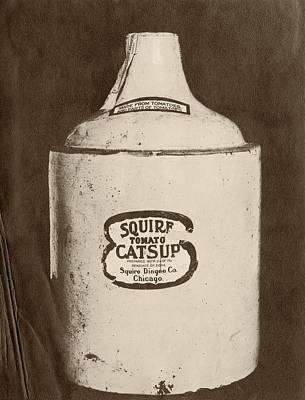 Ketchup Bottle Poster