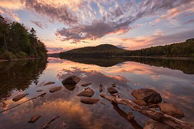 Kettle Pond Sunset Poster