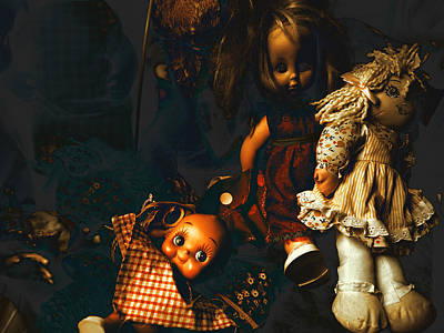 Kewpie's Bad Dream Poster by Wayne Sherriff