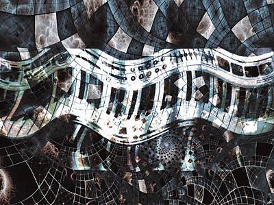 Key Patterns Poster by Linda Sannuti