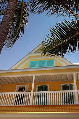 Poster featuring the photograph Key West House by Glenn DiPaola