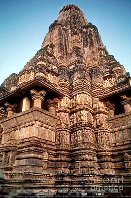Khajuraho Tower Poster