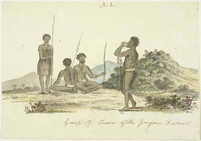 Khonds Native People Poster
