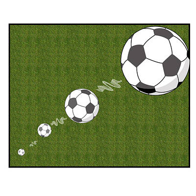 Kick The Ball Poster