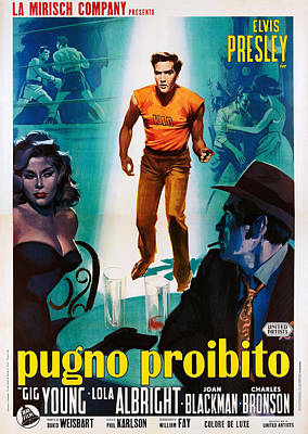 Kid Galahad, Aka Pugno Proibito, Center Poster by Everett