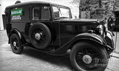 Kilbeggan Distillery's Old Car Poster