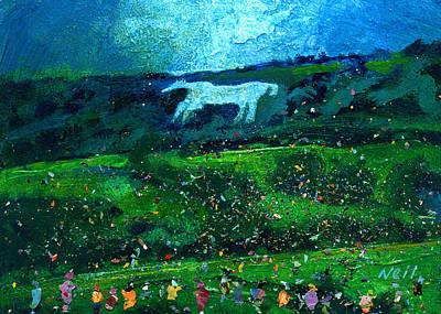 Kilburn Feast Under The White Horse Poster