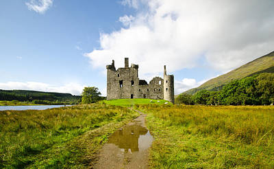 Kilchurn Castle 2 Poster by Chris Thaxter