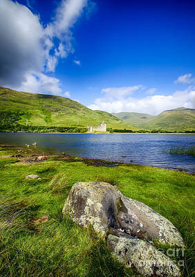 Kilchurn Castle Loch Awe Poster by Chris Thaxter