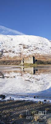 Kilchurn Castle Loch Awe Scotland Poster by Tim Gainey