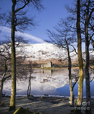 Kilchurn Castle Scotland Poster by Tim Gainey