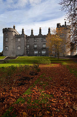Kilkenny Castle - Rebuilt In The 19th Poster by Panoramic Images