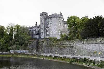 Kilkenny Castle Seen From River Nore Poster by Christiane Schulze Art And Photography