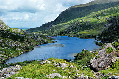 Killarney's Lakes So Blue Poster by Maggie Magee Molino