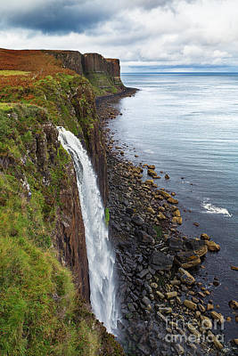 Kilt Rock Waterfall Poster