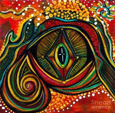 Kindness Spirit Eye Poster
