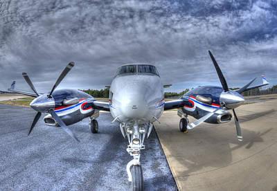 King Air C90 Poster