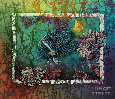 King Angelfish Poster by Sue Duda