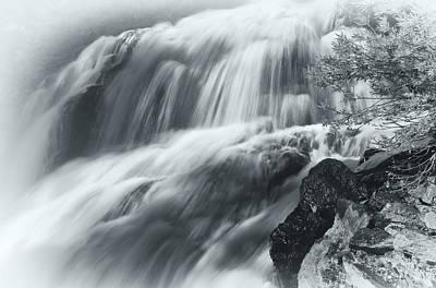 King Creek Falls Poster by Jonathan Nguyen