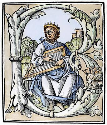 King David (d Poster by Granger