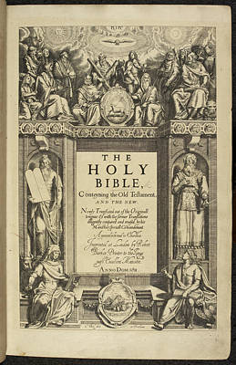 King James Bible Poster by British Library