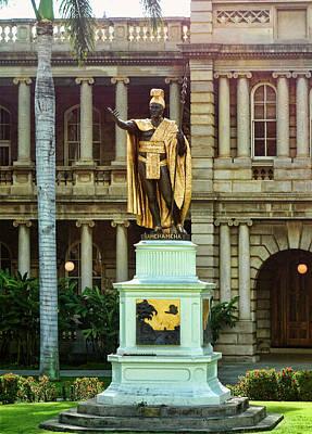 King Kamehameha I Poster